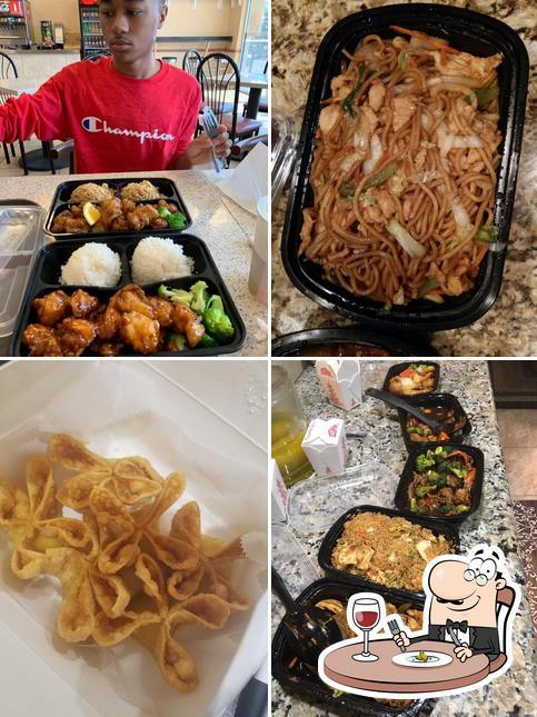 Food at China Island