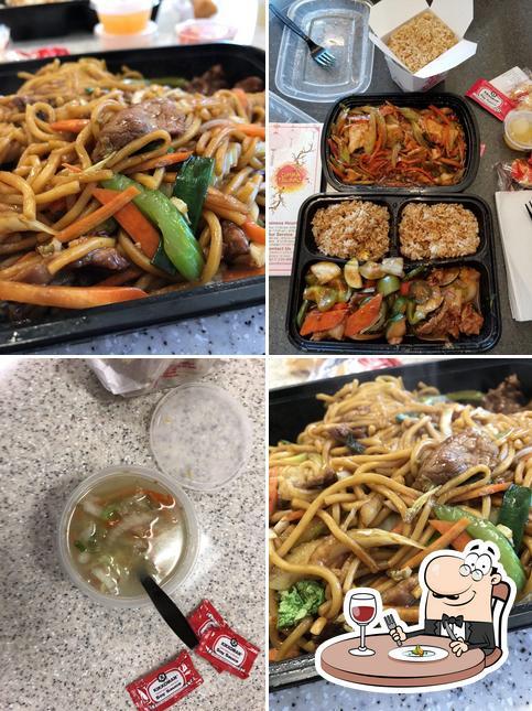 Meals at China Island