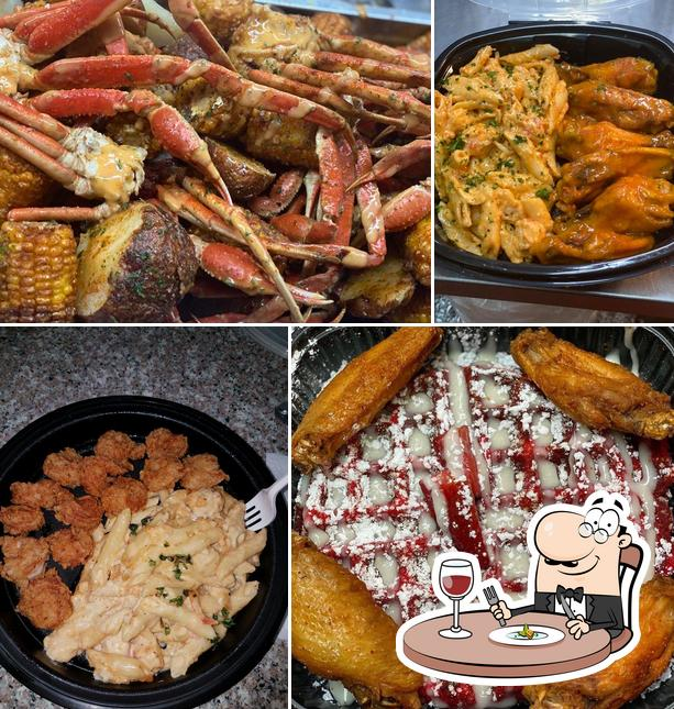 Food at Cuzzo's Cuisine