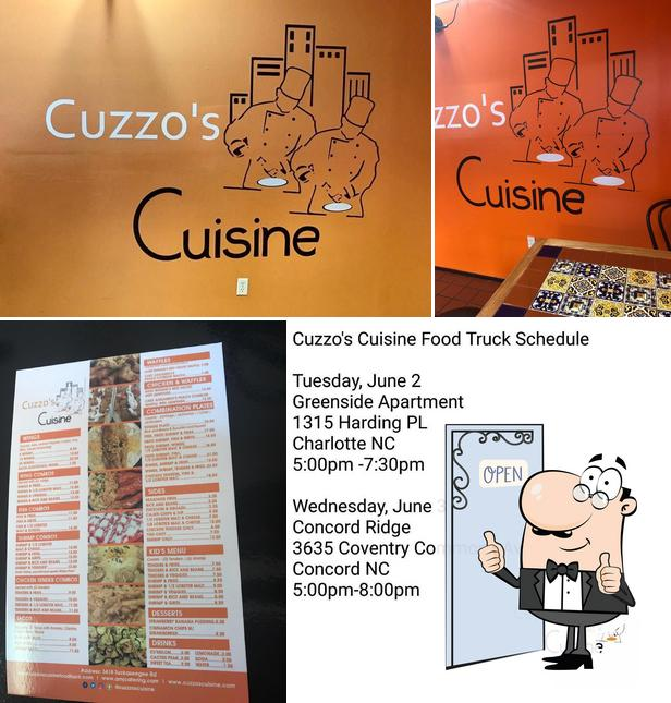 Look at this photo of Cuzzo's Cuisine