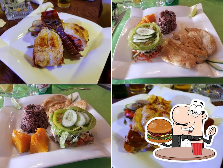 Get a burger at El Bodegon del Gordo