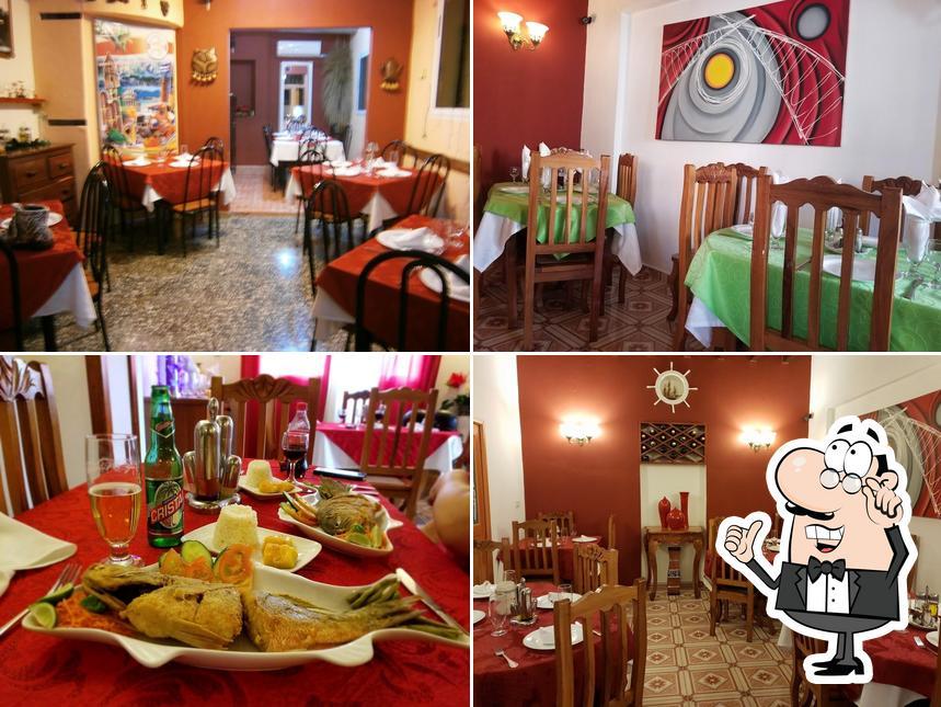 The interior of El Bodegon del Gordo