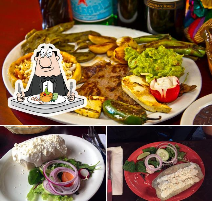 Food at Estrellita Poblana III
