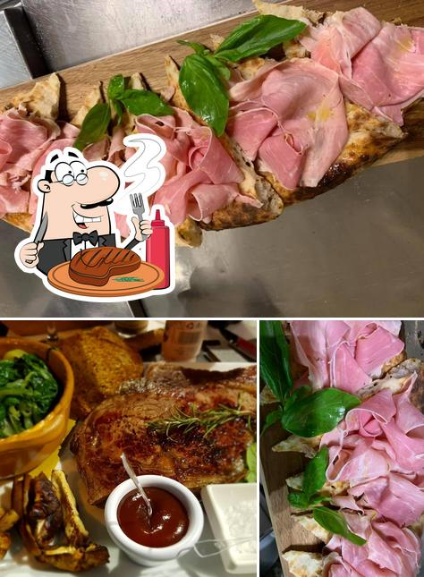 Ordina i un pasto a base di carne a Foscolo Tre