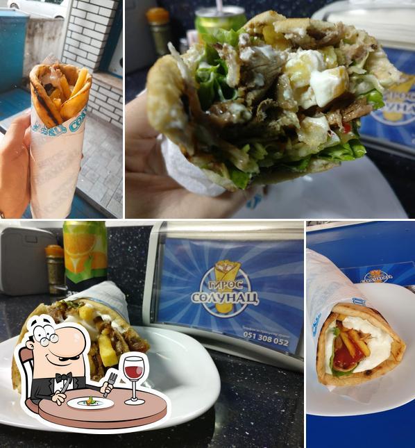 Food at Gyro Solunac