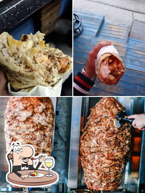 Meals at Gyro Solunac