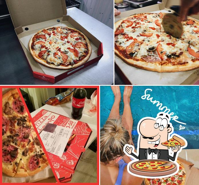 Order pizza at In Tempo