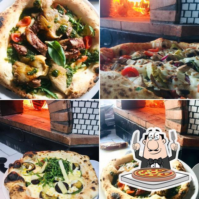 Попробуйте пиццу в L'Antico Forno