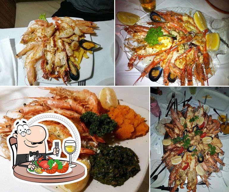 Get seafood at LORD PRAWN