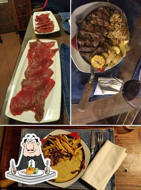 Блюда в La Lombonera