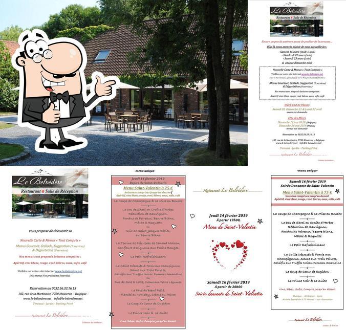 "Взгляните на фото ресторана ""Le Belvédère"""