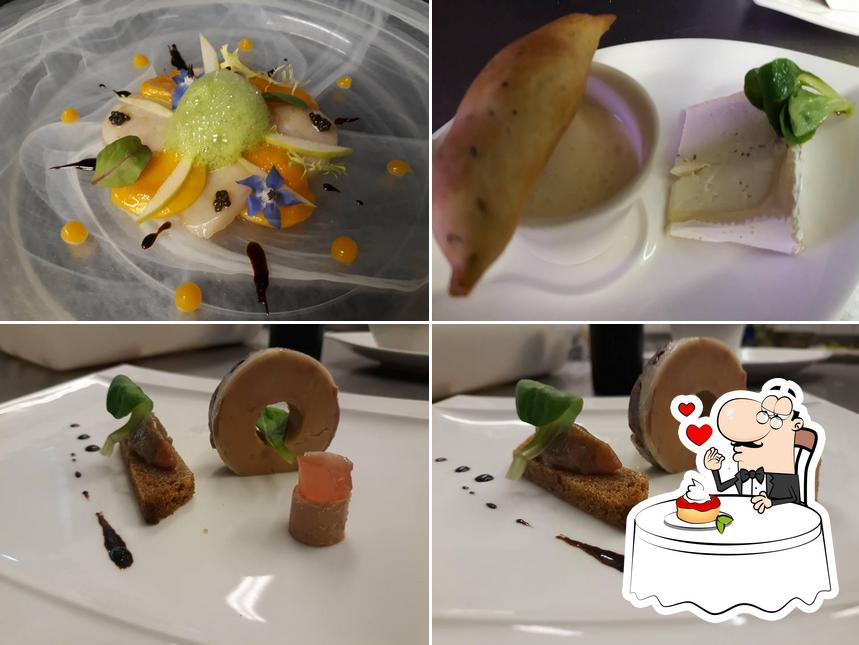 Restaurant Le Carré d'Ange offre une variété de plats sucrés