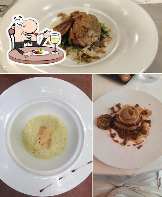 Nourriture à Restaurant Le Carré d'Ange