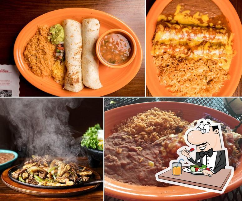 Food at Matt's El Rancho
