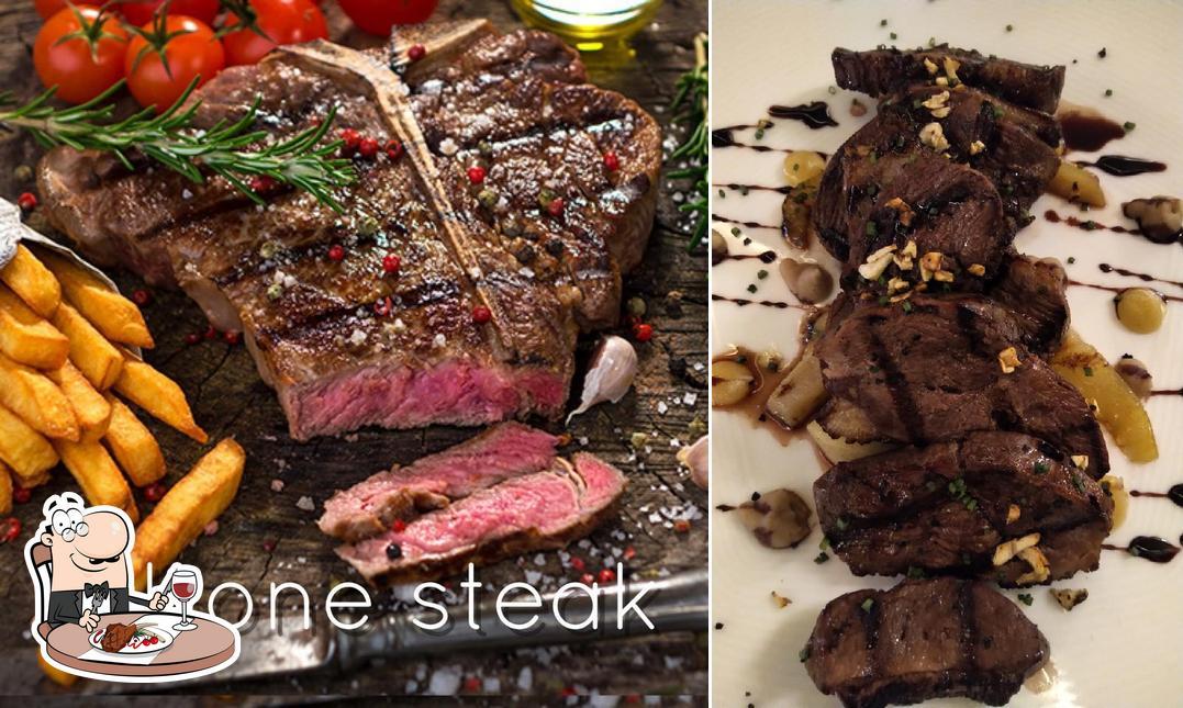 Pide una receta con carne en Meat Garden