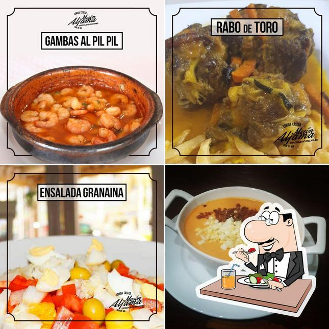 Meals at Mesón Aljama