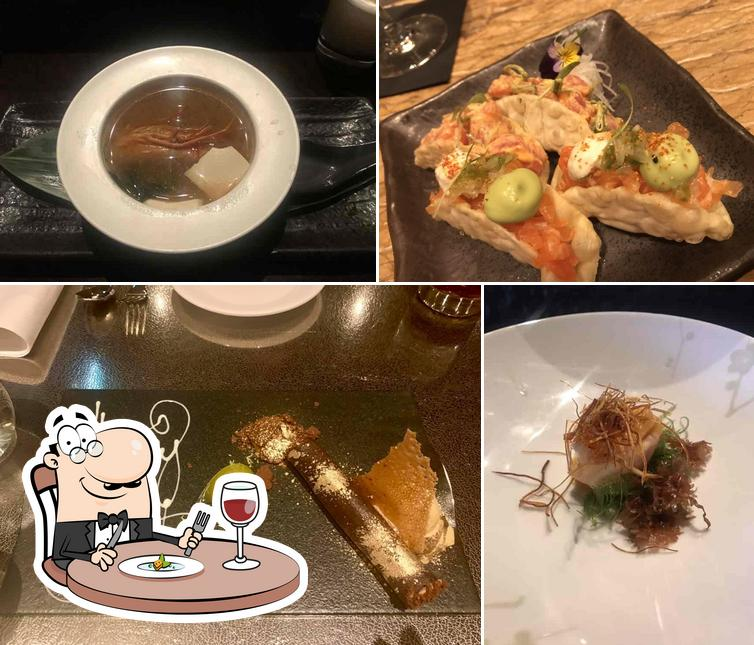 Food at Nobu