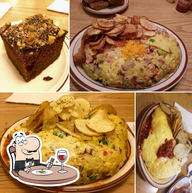 Comida en Omelet House