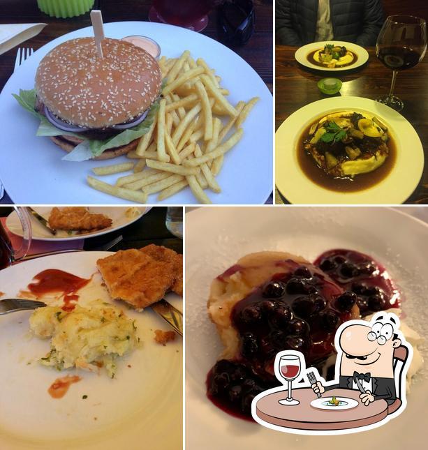 Food at Restaurace Jelenka