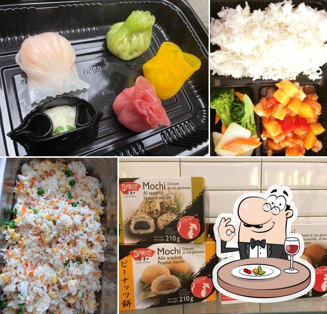 Essen im Rice Go Asian Take Away