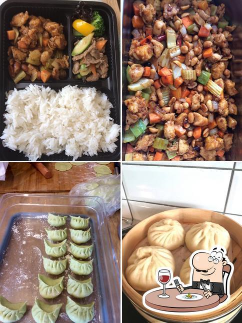 Gerichte im Rice Go Asian Take Away
