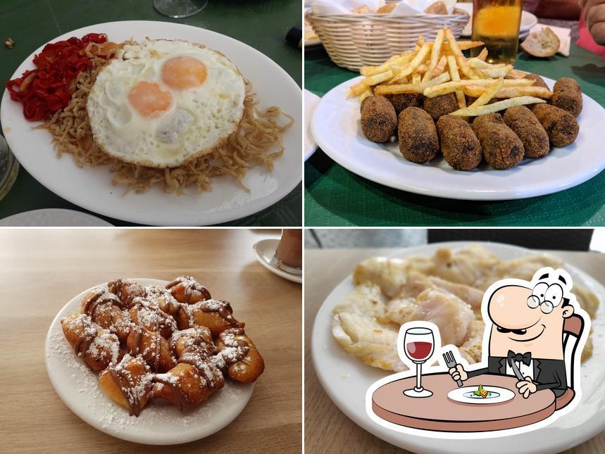 Comida en Taberna El Moniato Y Cafetería Churreria El Moniato