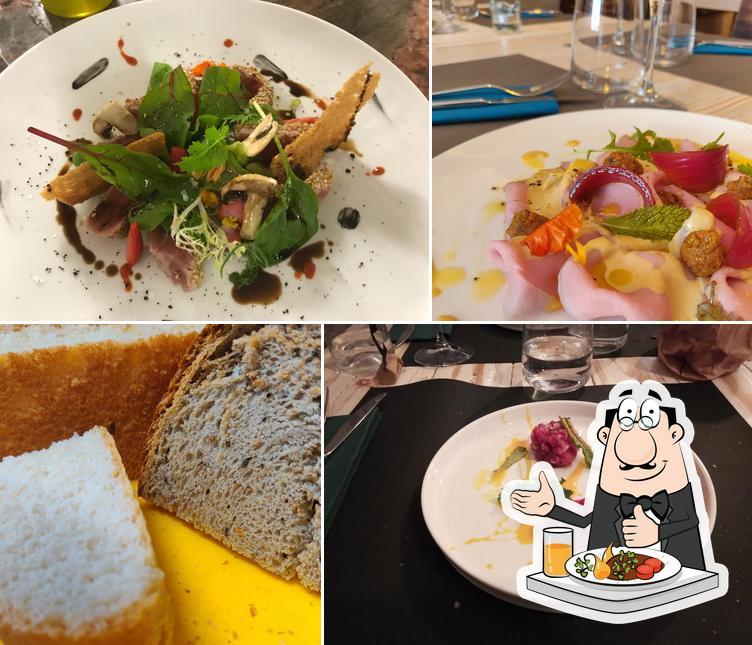 Comida en Taverna Patrignani