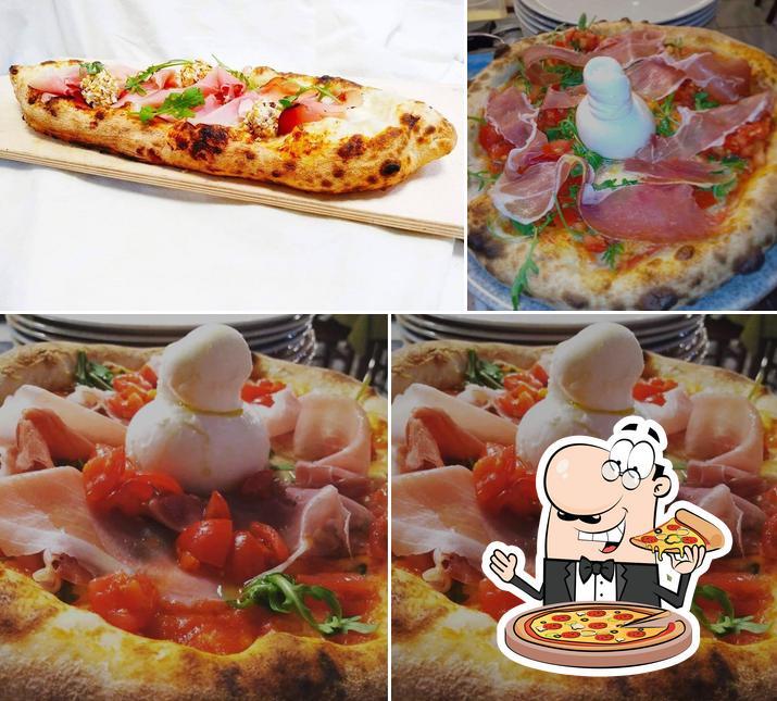Commandez des pizzas à Tutti a tavola