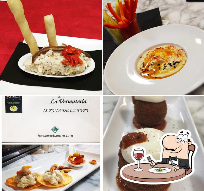 Блюда в Vermuteria La Románica