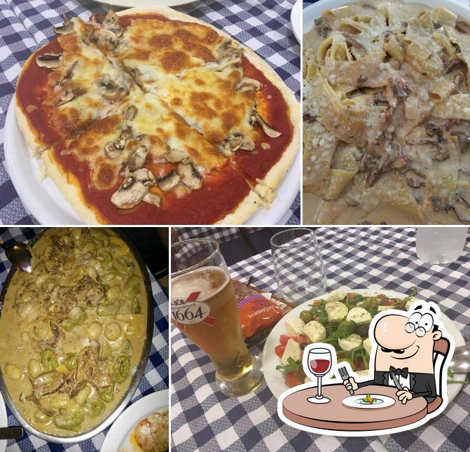 Comida en Restaurante Vieja Roma