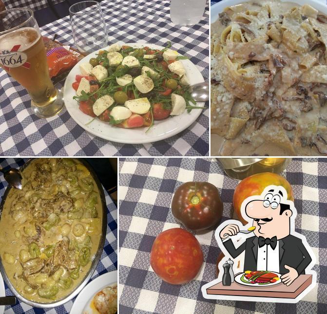 Platos en Restaurante Vieja Roma