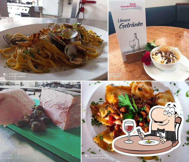 Comida en Cafe Ristorante zum Handschuh & Shopping im Modehaus Niebel