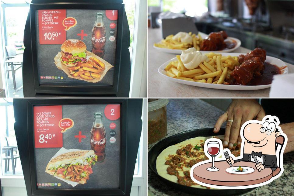 Еда в Zum Kurfürsten