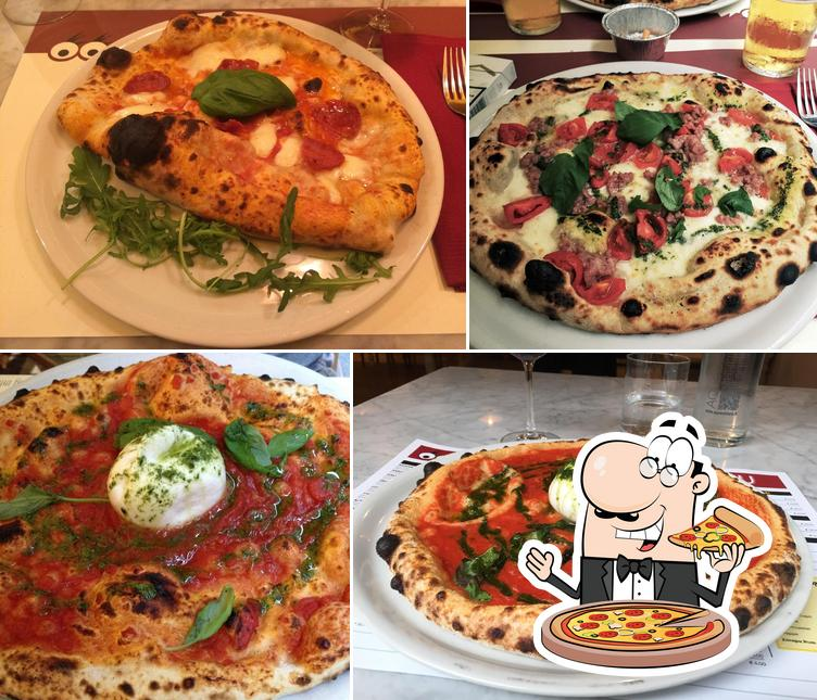 Prova tra le svariate varianti di pizza