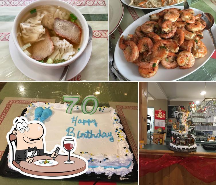 Food at Sun Wui Family Restaurant