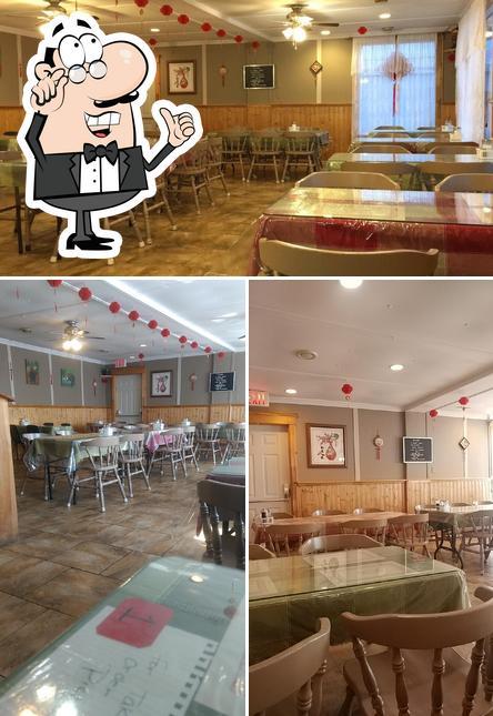 The interior of Sun Wui Family Restaurant