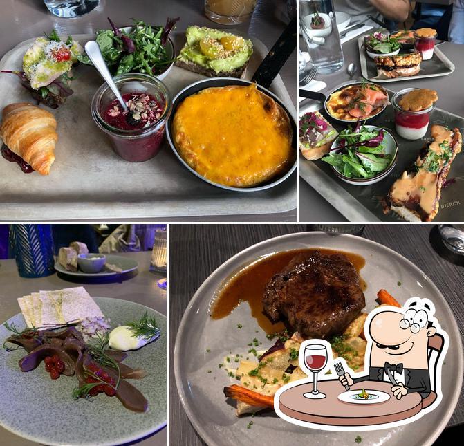 Meals at Bjerck Restaurant & Bar