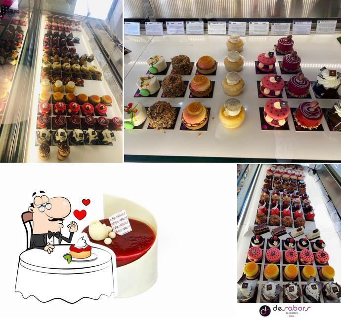 De Sabors предлагает большое количество десертов