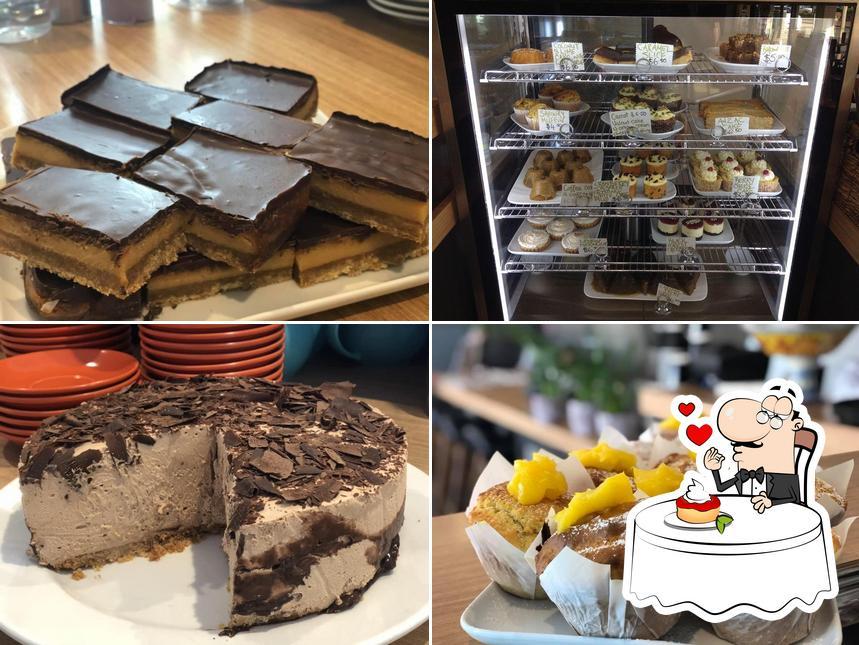 Espresso One offers a range of desserts