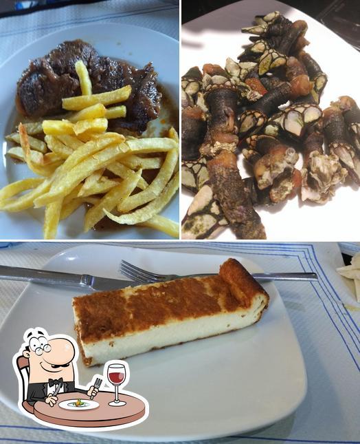 Comida en Café Bar Carlos