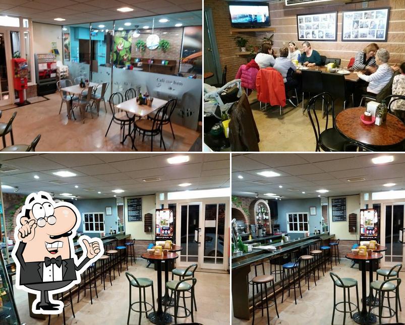 El interior de Cafetería Coconut