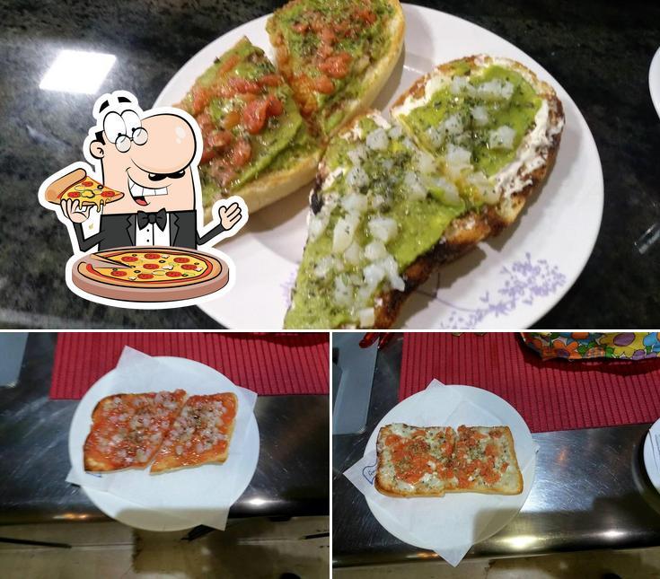 Tómate una pizza en Cafetería Coconut