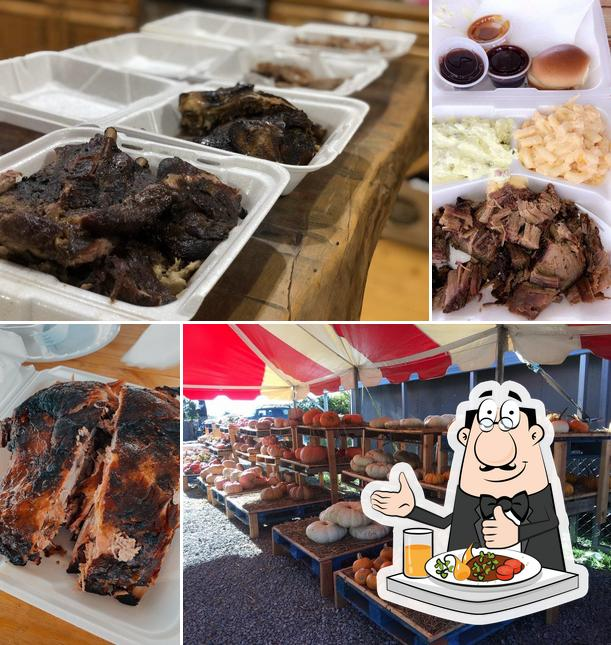 Meals at Bustin' Butts BBQ/210 Produce