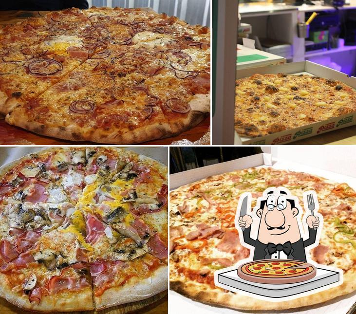 Pide diferentes modelos de pizza