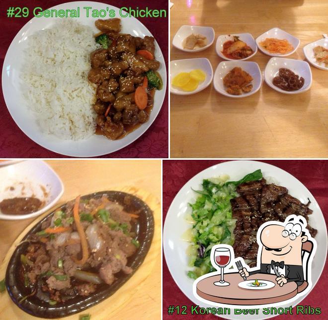 Food at Mr. Wok
