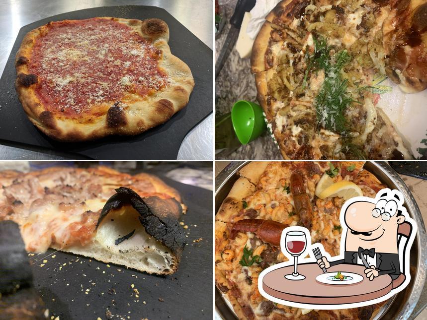 Food at Gail's Pizza Parties