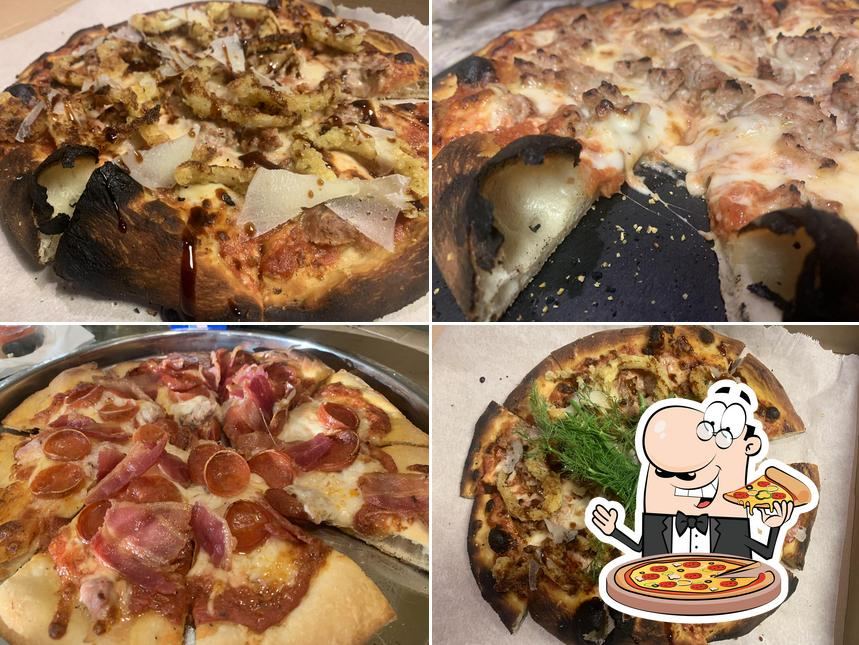 Order pizza at Gail's Pizza Parties