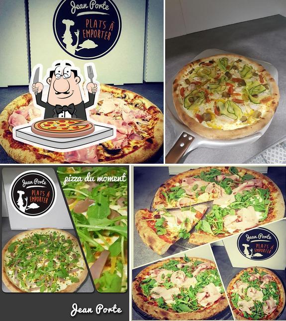 Pide una pizza en Jean porte