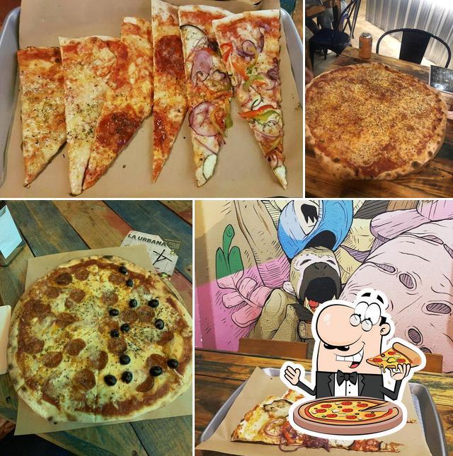 Pide una pizza en La Urbana