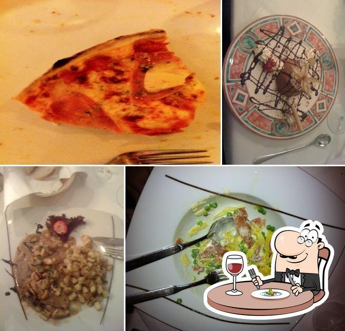 Essen im Vesuvio